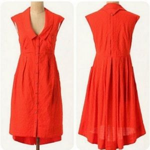 Anthropologie Post Mark 9-H15 STCL Dress
